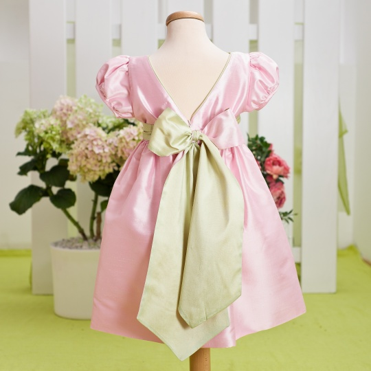 """Aquarela"" - elegant baby dress ""Magnolia"""