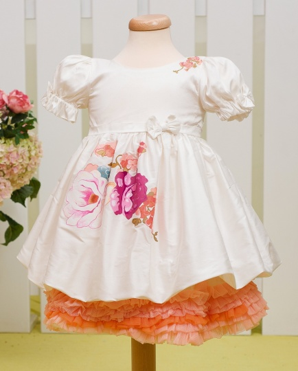 """Aquarela"" - girl dresses ""Pink Aquarela"""