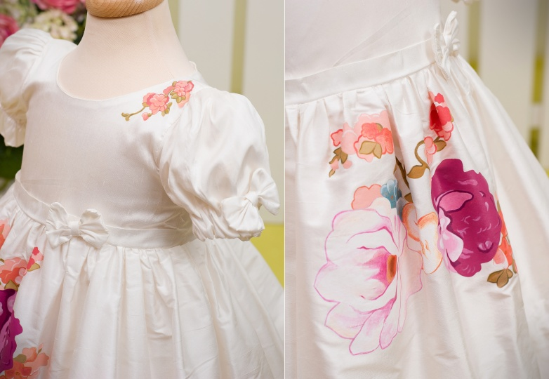 """Aquarela"" - special occasion dress ""Pink Aquarela"""