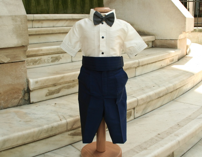 """Ballerina & The Funky Boy"" - boy christening suit ""Jerry"""