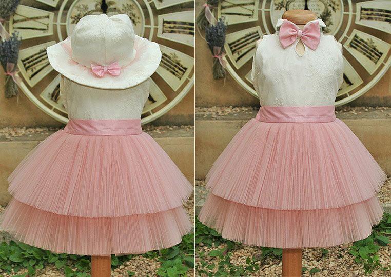 """Ballerina & The Funky Boy"" - christening dress ""PussyKat Ballerina"""