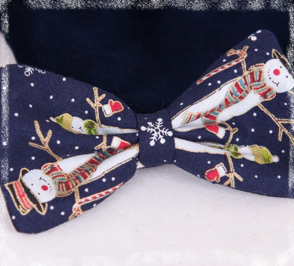 "Christmas Stories - ""Nicolas"" Bow Tie for Little Boys"