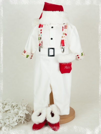 "Christmas Stories - ""Santa's Little Helper"" Christmas Suit for Boys"
