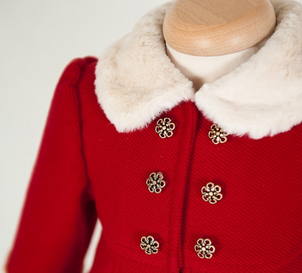 "Christmas Stories - ""Natalie"" Baby Girl Coat"