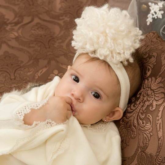 "Grandma's Chest - christening dress ""Snowflake"""