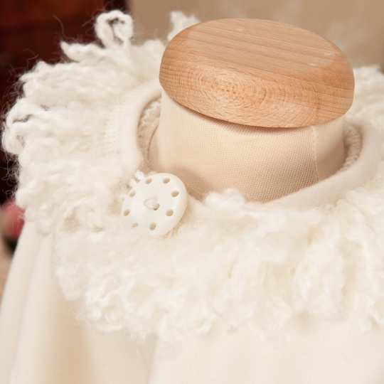 "Grandma's Chest - christening coat ""Snowflake"""