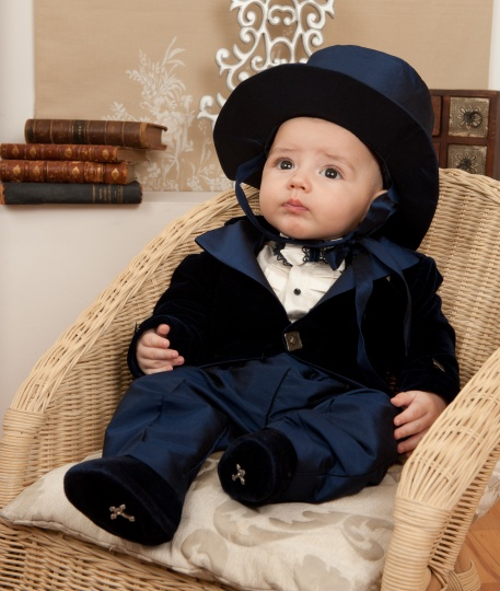 "Grandma's Chest - boy suit ""Chester"""