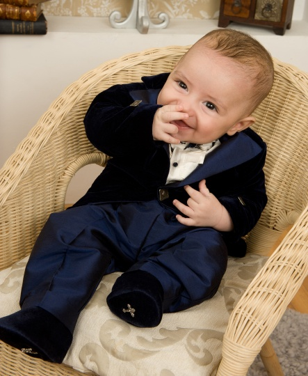 "Grandma's Chest - christening suit ""Chester"""