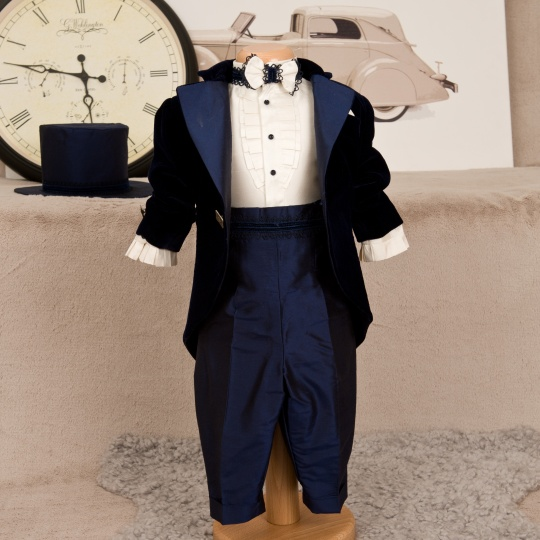 "Grandma's Chest - boy christening suit ""Chester"""