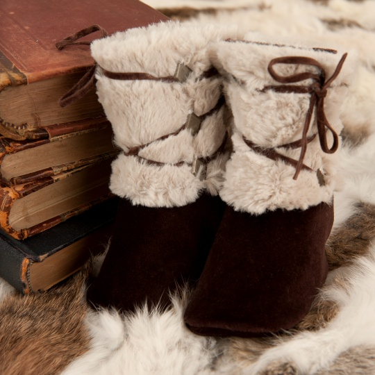 "Grandma's Chest - boy boots ""Viking"""