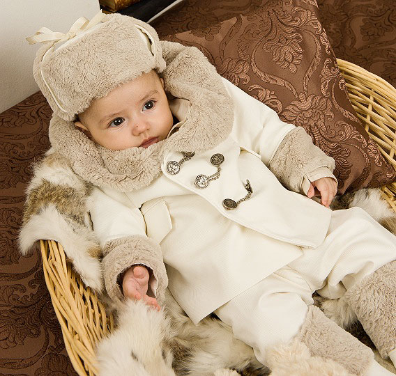 "Grandma's Chest - boy suit ""Tzarevich"""