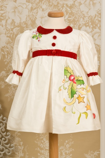 "Grandma's Chest - Christmas dress ""Christmas Carol"""