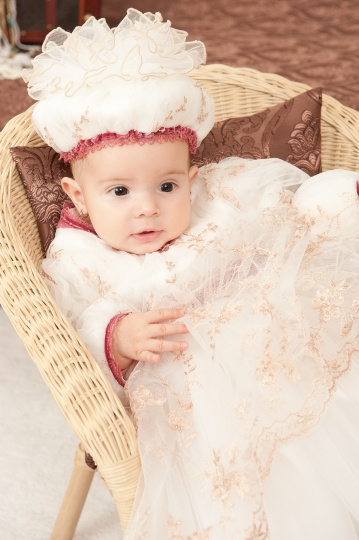 "Grandma's Chest - christening dress ""Anastasia"""