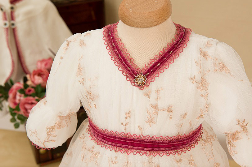"Grandma's Chest - christening gown ""Anastasia"""
