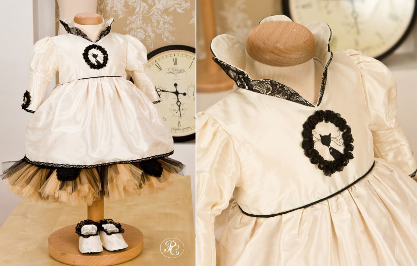 "Grandma's Chest - christening gown ""Musette"""
