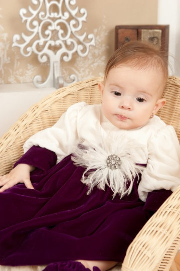 "Grandma's Chest - christening dress ""Eva"""