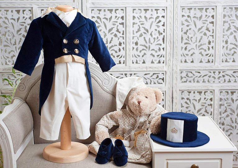 "Les aristokats - boy christening suit ""O'Malley"""