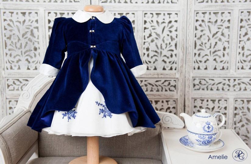 "Les Aristokats - coat for baby girls ""Amelie"""