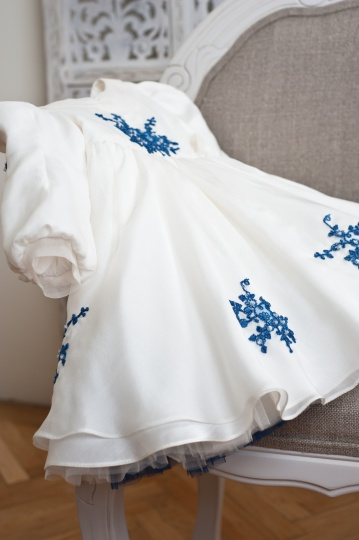 "Les Aristokats - girl christening gown  ""Amelie"""