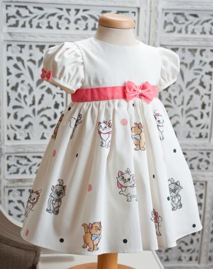 "Les Aristokats - girl dress ""Pisicile aristocrate""."