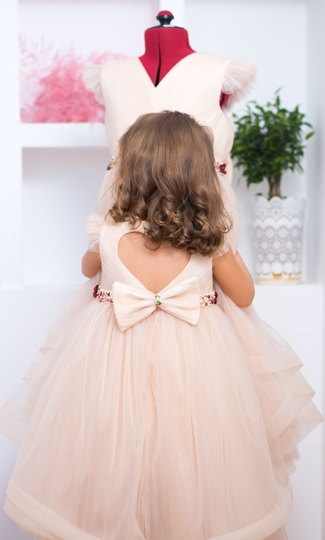 Christine - Handmade belt tutu Dress for Girls