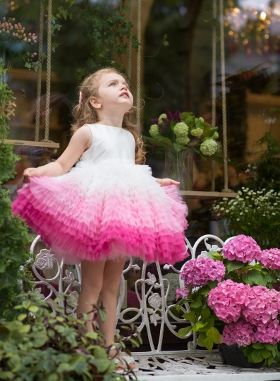 Rosa Bella - Pink tutu dress