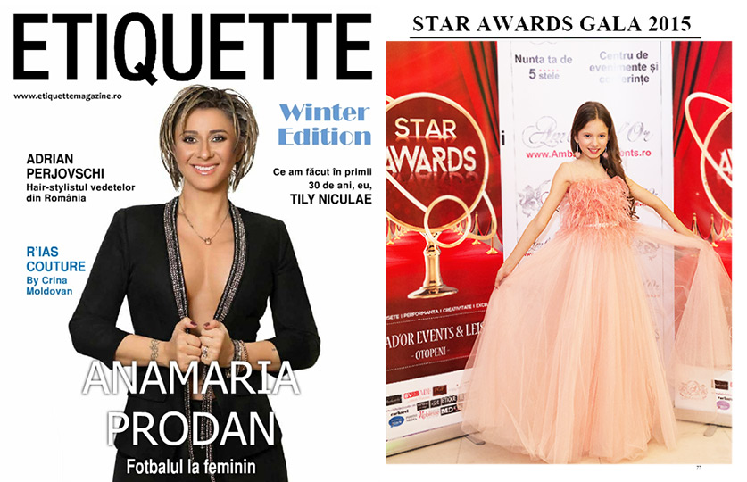 Etiquette - Winter Edition & Bianca @ Star Awards Gala 2015
