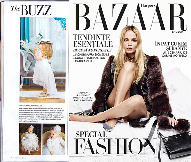 Petite Coco featured in Harper's Bazaar