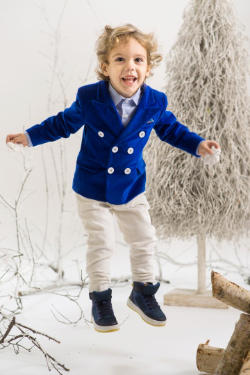 Royal Blue Boy Suit