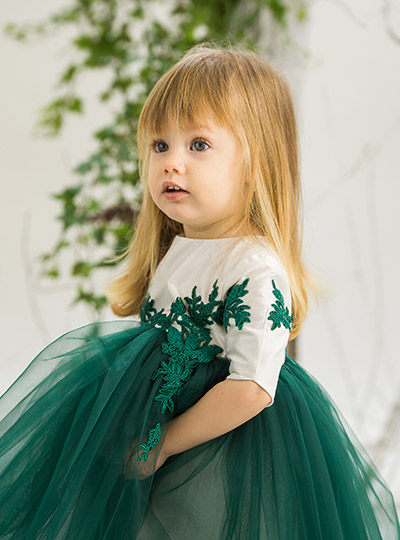 Jade Forest Dress